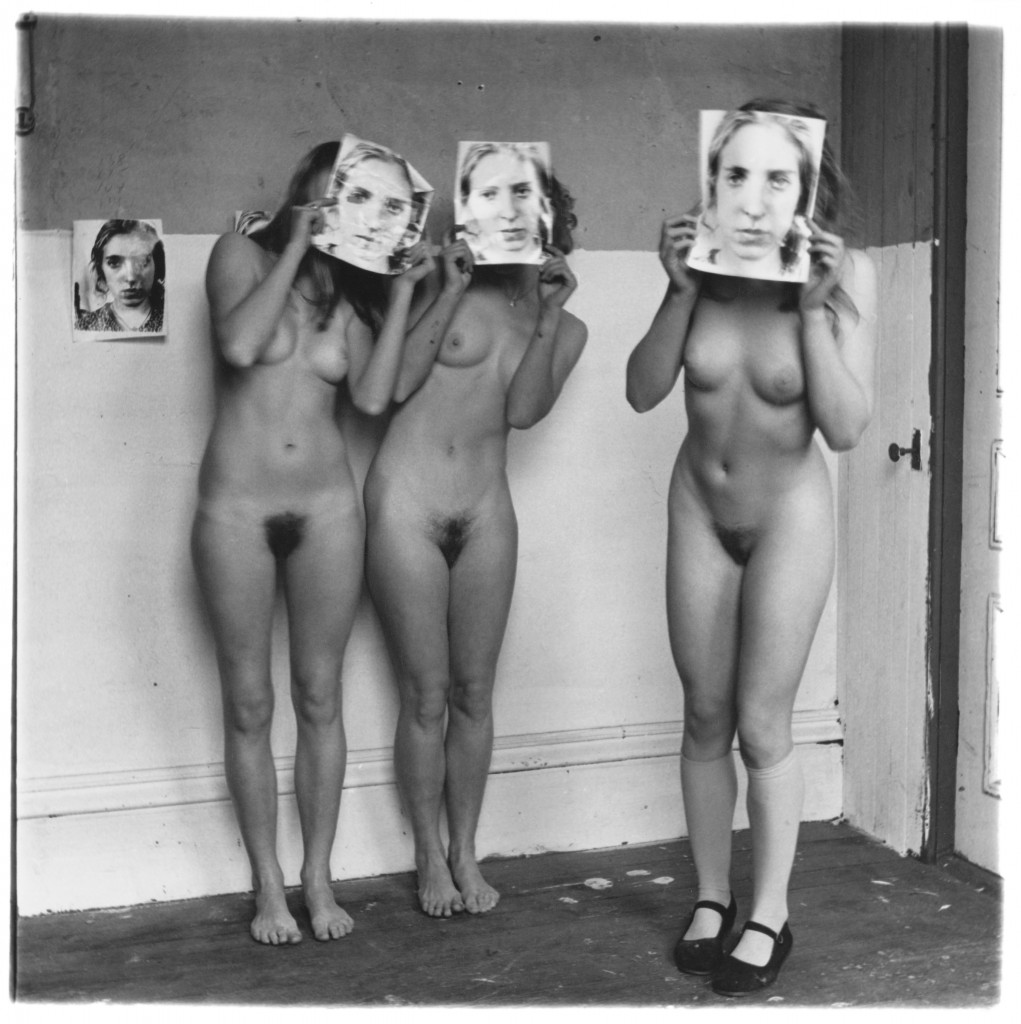 Francesca Woodman, Untitled, Providence, Rhode Island, 1976, Gelatin silver print, 13.3 x 13.5 cm, Courtesy George and Betty Woodman © 2012 George and Betty Woodman