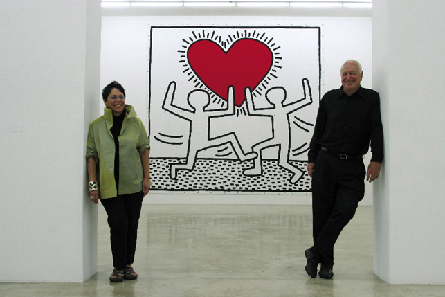 Don and Mera Rubell have collected contemporary art for more than four decades, beginning with a $25-a-week budget, and now travel the globe looking for more pieces.
