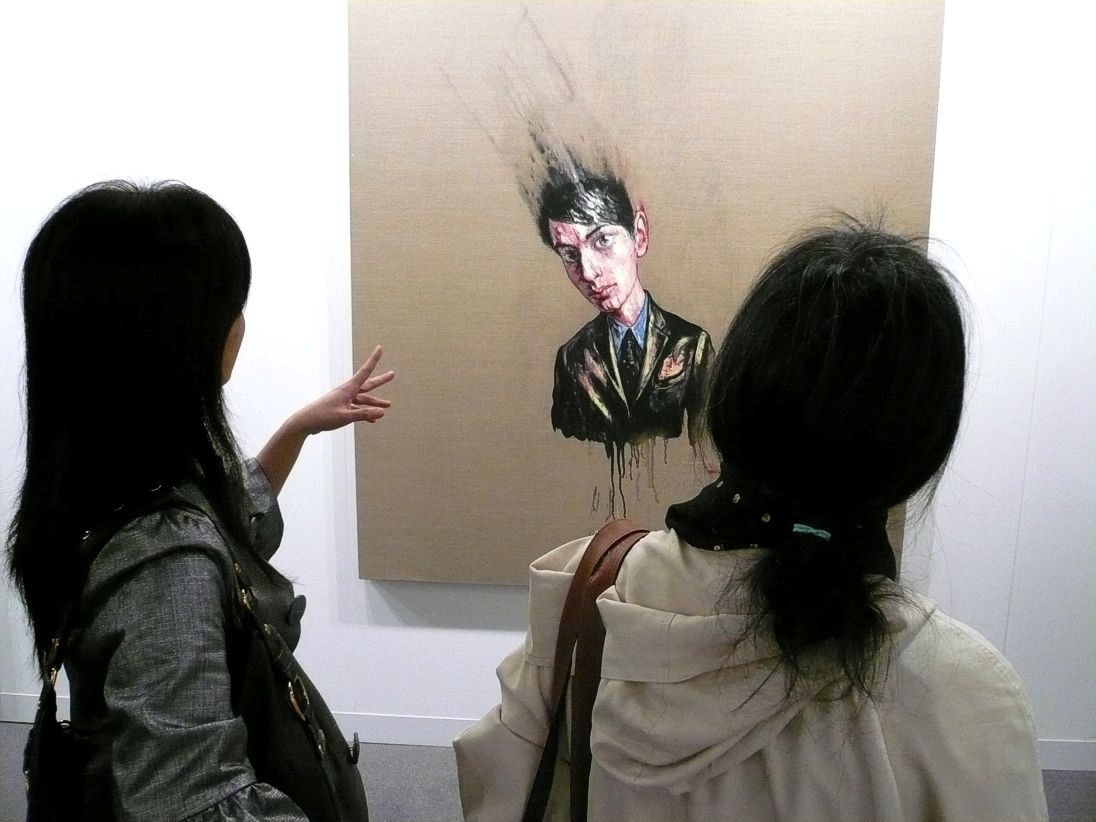 Zeng Fanzhi is one of the most popular blue-chip Chinese contemporary artists | Photo by Madcrow