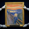 "The only privately owned version of Edvard Munch's ""The Scream"" set a world record April 2nd 2012 when it sold for $119.9 million at Sotheby's in New York."