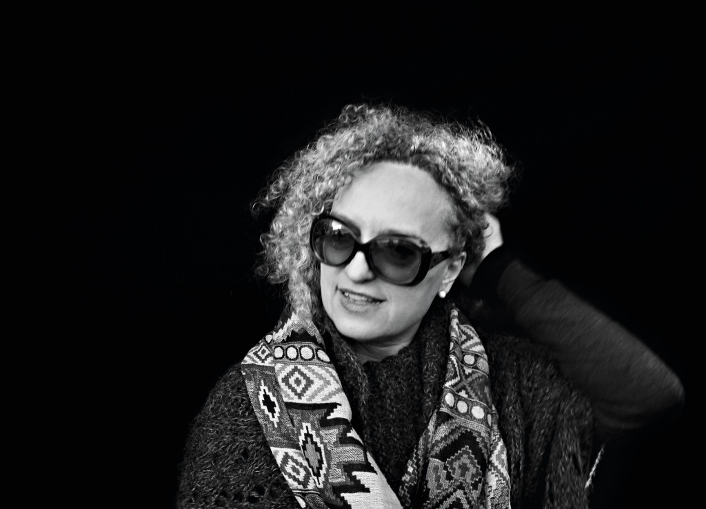 dOCUMENTA (13) artistic director Carolyn Christov-Bakargiev photographed by Kai-