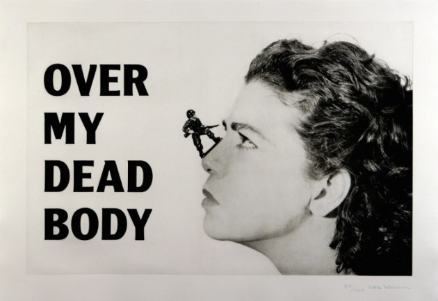 Over my dead body, 1988-2002 © Mona Hatoum. Courtesy White Cube​
