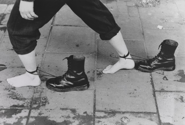 Performance Still 1985, printed 1995 Presented by Tate Patrons 2012 © Mona Hatoum