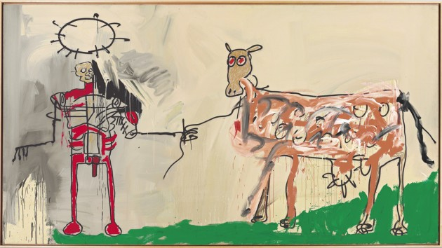 jean-michel-Basquiat-christies-The Field Next to the Other Road