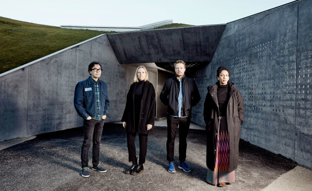 Yuri Suzuki, Veronika Sedlmair, Brynjar Sigurðarson, Anjali Srinivasan (Photo by Mark Cocksedge)