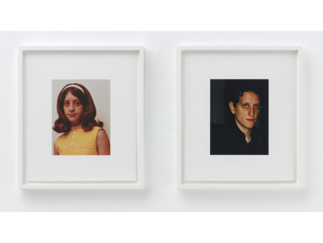 Roni Horn a.k.a., 2008–09 (detail) Ink jet prints on rag paper, 30 paired photographs, 38.1 x 33 cm each Private collection © Roni Horn Photo: Hermann Feldhaus