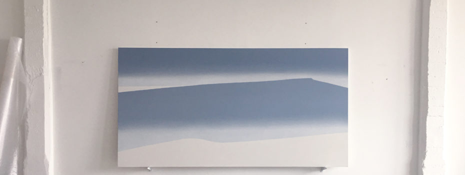 islands of space, 290x150cm, oil on canvas, 2017